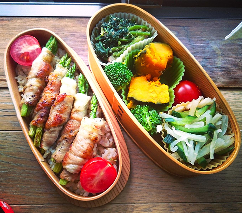 野菜たっぷり肉巻弁当
